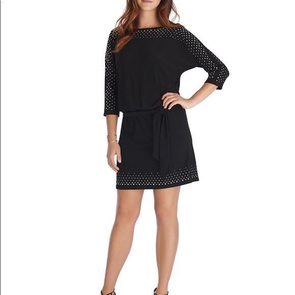 91b751b58f8de White House Black Market Blouson Dress. M 5a5e66bac9fcdf703b06332f